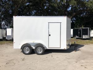 6x12 TA 7' Tall Interior Enclosed Trailer Cynergy Advanced Series Rear Ramp for Sale in Tampa, FL