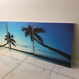 3 Piece Canvas Art for Sale in Miami, FL