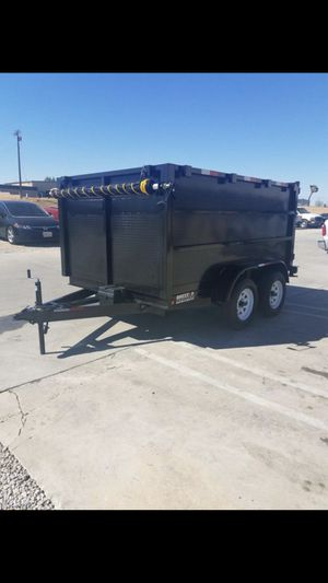8X12X4 TA Dump Trailer for Sale in Chino, CA