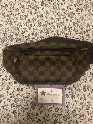 Authentic Louis Vuitton Damier Ebene Bum Bag for Sale in Elk Grove, CA