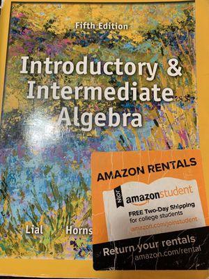Introductory &intermediate Algebra for Sale in Hayward, CA