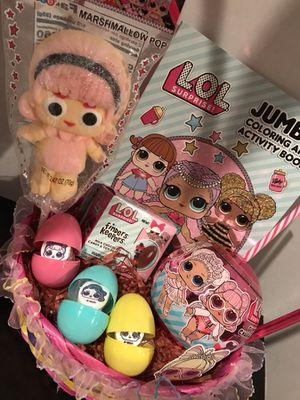 EASTER BASKETS LOL Frozen Pj Masks Trolls Dylan's Candy Bar for Sale in Long Beach, CA