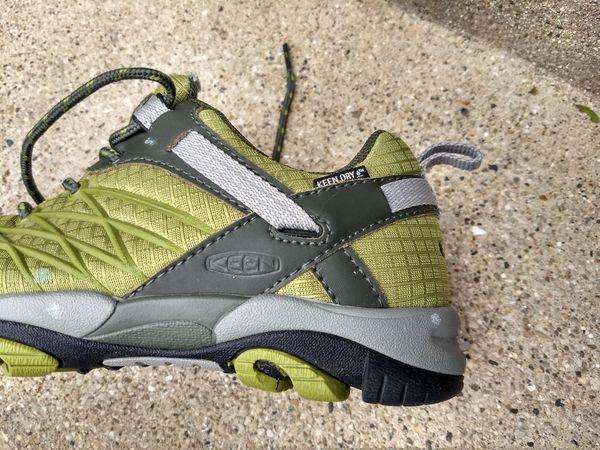 Keen women us 5.5 waterproof hiking shoe