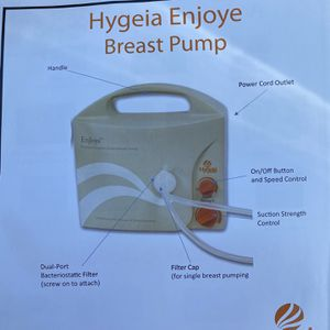 Hygeia Enjoye Breast Pump for Sale in Turlock, CA