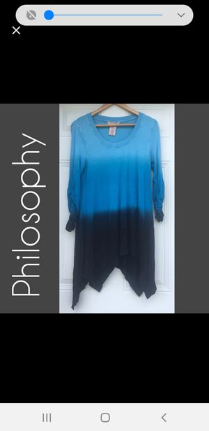 Philosophy tunic (small size) for Sale in Midland, TX