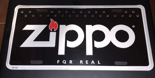 Zippo License Plate , still in original shrink wrapped for Sale in Snohomish,  WA