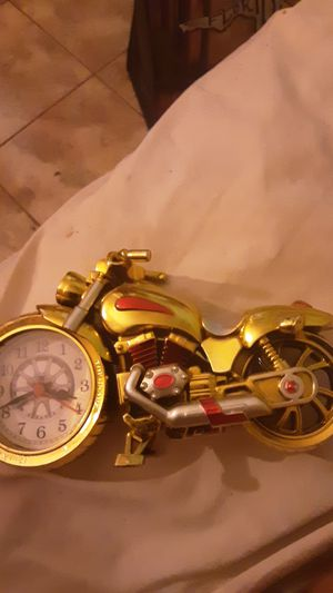 Motorcycle clock for Sale in Melbourne, FL