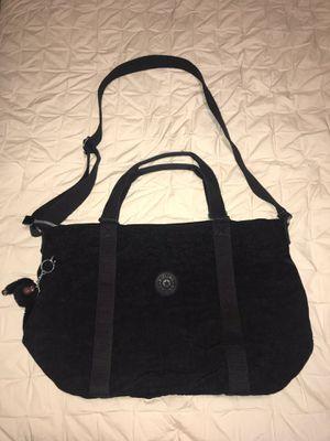 """Kipling Adara Black Nylon Tote Bag 15x13x7"""" for Sale in Kirkland, WA"""