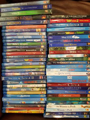 Movies, Disney, DreamWorks, & Random BlueRay (ALL Blue-Ray) for Sale in Mesa, AZ