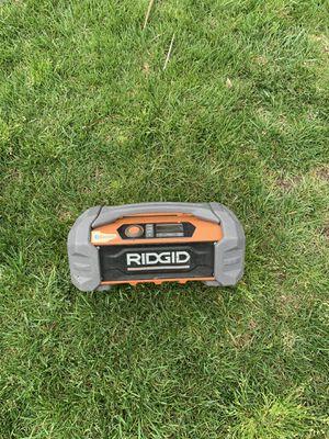 RIDGID radio Bluetooth for Sale in Rio Linda, CA