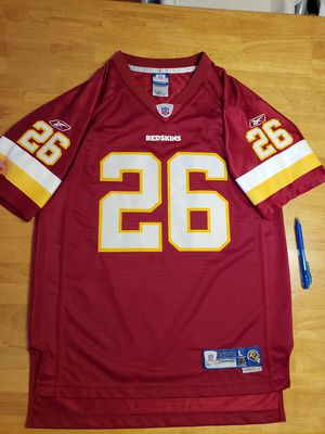 Redskins NFL Jersey. Clinton Portis #26. Please see size for Sale in Sudley Springs, VA