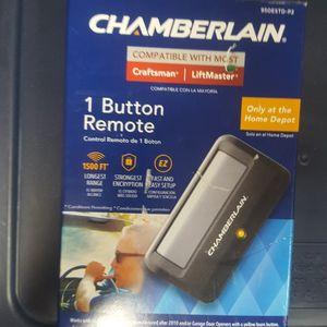 Chamberlain 1 Button Remote for Sale in Phoenix, AZ