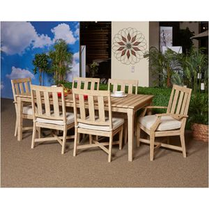 New 7pc outdoor patio furniture dining set tax included free delivery for Sale in Hayward, CA
