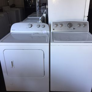 Kenmore top load washer and whirlpool gas dryer for Sale in San Luis Obispo, CA