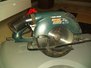 Black and Decker saw for Sale in Newport, RI