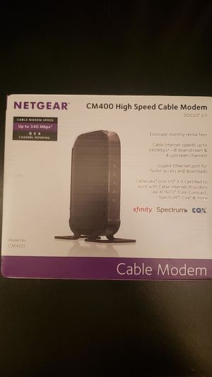 Netgear High Speed Cable Moden for Sale in Orlando, FL