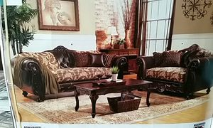ELEGANT NEW CLASSIC SOFA & LOVESEAT for Sale in Denver, CO
