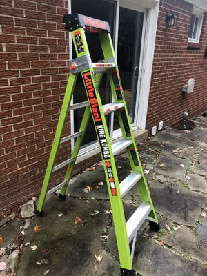 Little Giant King Kombo ladder. Literally brand new. Bought the wrong size off amazon. I mean brand new. Payed $159 for it on amazon. Folding ladder for Sale in Murrysville, PA