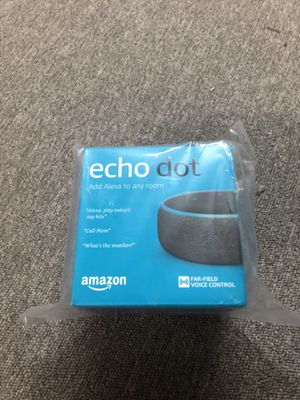 Amazon Echo Dot (3rd Generation) for Sale in Seattle, WA