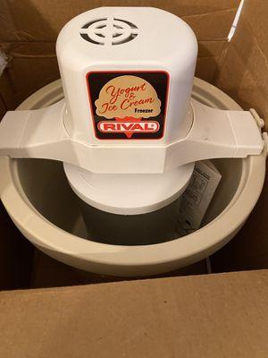 Rival Ice Cream and Yogurt Freezer for Sale in Las Vegas, NV