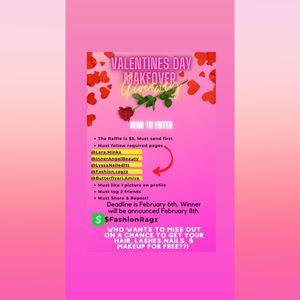 Valentines Makeover Giveaway! for Sale in College Park, GA
