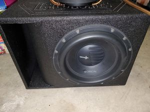 """(2) Orion 12"""" XTRPRO subs for Sale in San Antonio, TX"""
