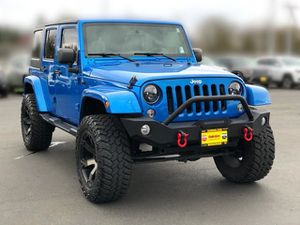 2015 Jeep Wrangler for Sale in Monroe, WA