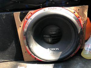 "Orion HCCA 15"" for Sale in Detroit, MI"