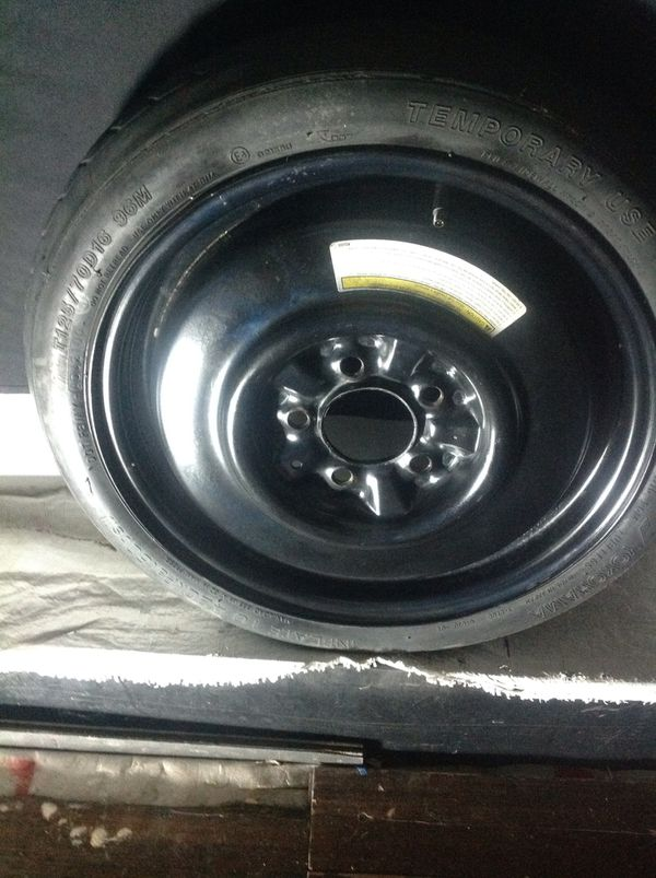 """""""TOSAYS SPECIAL"""" 2000 nissan maxim spare tire donut tire"""