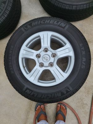 4 set of wheels and tires 275x65r18. for Sale in Lake Forest, CA