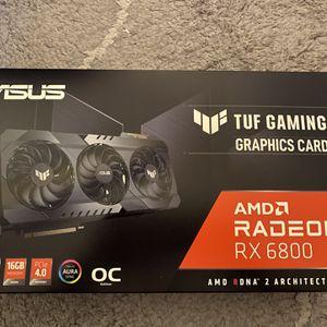 Asus Tuf Gaming Amd Radeon Rx 6800 for Sale in San Ramon, CA