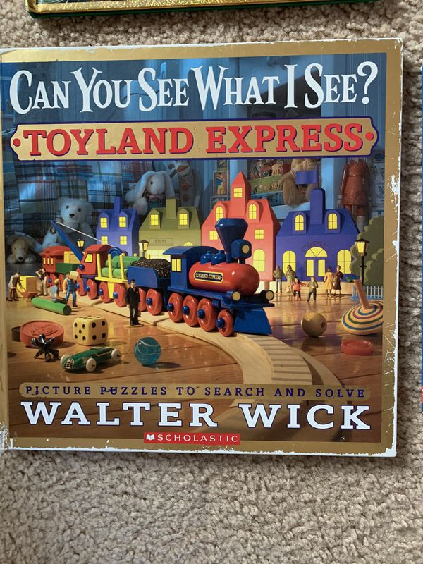 Walter Wick ispy seek and find Christmas Halloween toys shapes books