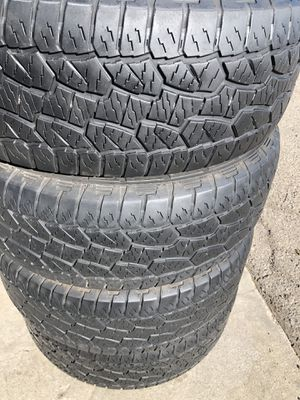 Hankook dynapro 275/55/20 A/T set of 4 tires for Sale in Stockton, CA