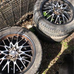 Rims For Mazda 6 And Mustang Cobra for Sale in San Antonio,  TX