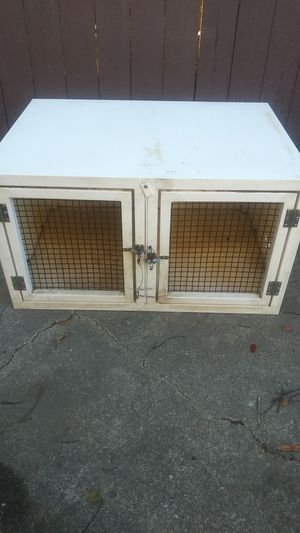 Dog kennel or crate doubled up for Sale in Hayward, CA