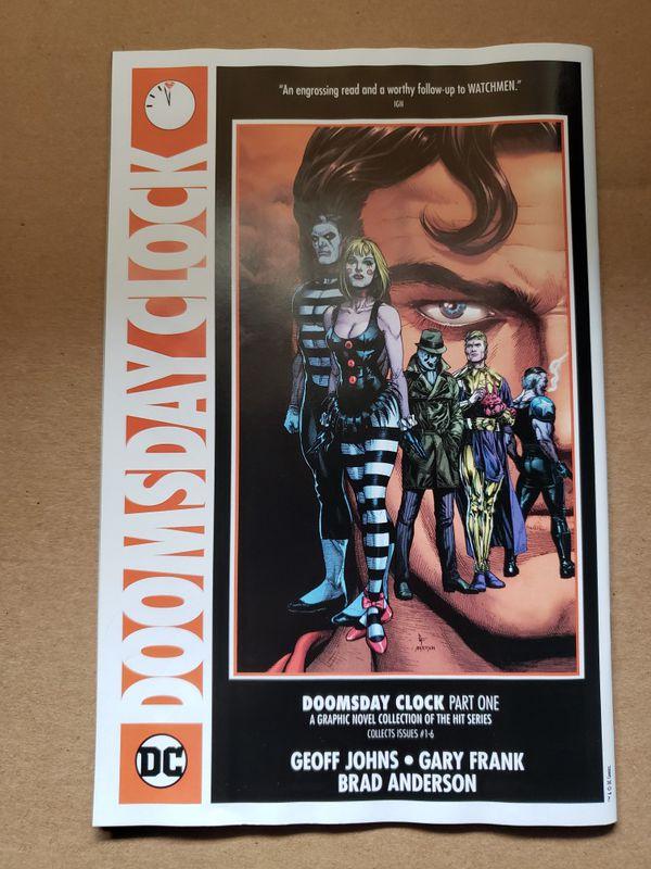 DC Watchmen SDCC 2019 Exclusive Comic