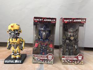Transformers Wacky Wobbler Bobblehead Set for Sale in Carpinteria, CA
