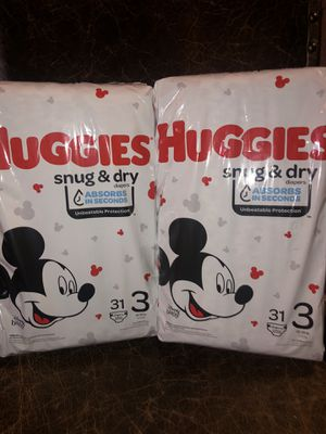 Huggies Snug & Dry Size 3 for Sale in Westminster, CO