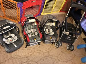 Graco car seat and stroller set for Sale in Austin, TX