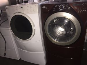 Whirlpool Washer and kenmore gas dryer for Sale in San Luis Obispo, CA