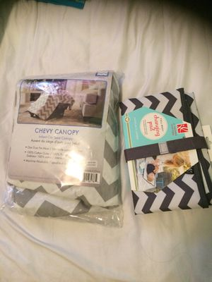 Car seat canopy and changing mat for Sale in Woodburn, OR