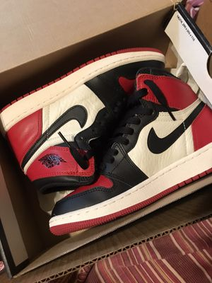 Jordan 1 Bred Toe 5.5y for Sale in Chicago, IL