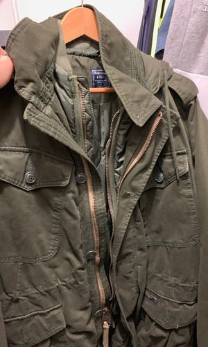Abercrombie and fitch jacket with hoodie new without tags size s feels like m for Sale in Miami, FL