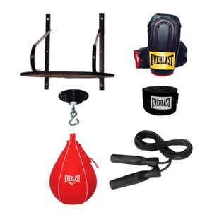 🥊 BRAND NEW Advanced 6 Piece Everlast Speed Bag Set Platform Kit with Gloves Exercise Workout Home Gym Boxing 🥊 for Sale in Chula Vista, CA