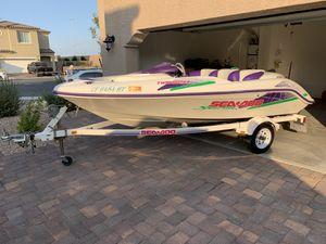 1995 Sea-Doo Speedster Twin Rotax 15' Boat for Sale in Las Vegas, NV