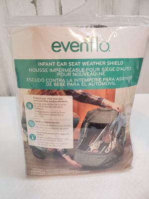 Evenflo Infant Car Seat Weather Shield. Condition is New. for Sale in Tacoma, WA