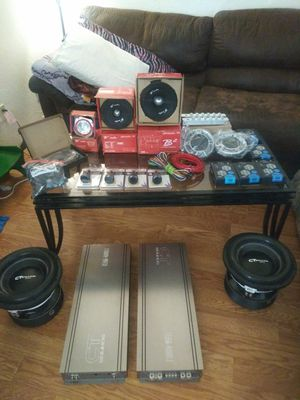 High performance car audio components for Sale in Clyde, TX