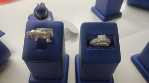 10K W/G wedding Set ring for Sale in Tampa, FL