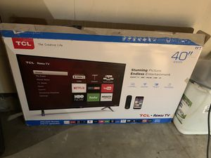 """TCL Roku TV 40"""" for Sale in Thornton, CO"""