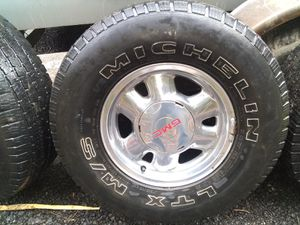 Tires & rims chevy/gm for Sale in Edgewood, WA